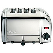 Dualit Vario 75-989 4 Slice Toaster Polished Stainless Steel