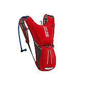 2014 Camelbak 2.0 L Rogue Hydration Pack Red