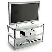 Atacama 3 Shelf TV Stand for up to 60 inch in Silver