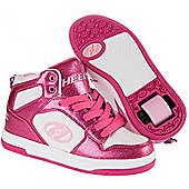 Heelys Flash 2.0 Girls/Boys Roller Skating Shoe Trainer Choose Colour JNR 12-UK7 - Pink