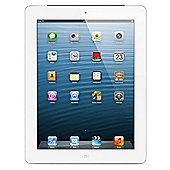 iPad with Retina display with Wi-Fi + 4G 64GB White