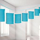 Turquoise Lantern Garland - 3.65m