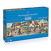 The Postmans Round - 2 x 500 piece Puzzle