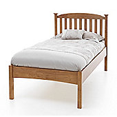 Home & Haus Eleanor Low Foot End Bed Frame - Opal White - Single (3')