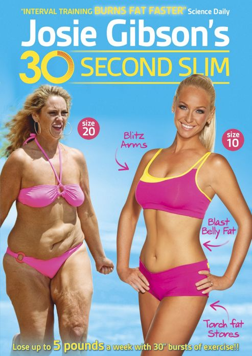 Josie'S 30 Second Slim (Fitness DVD)