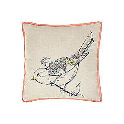Dickins & Jones Bird Cushion - Natural