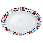 Tesco Porcelain Geo Side Plate