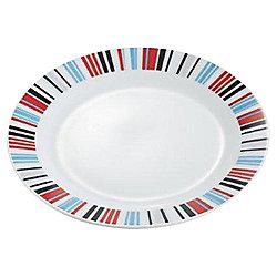 Tesco Porcelain Geo Side Plate