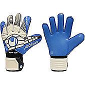 Uhlsport Eliminator Supersoft Goalkeeper Gloves Size - White