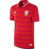 2014-15 Holland Nike Covert Polo Shirt (Red) - Red