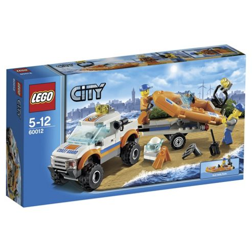 LEGO City Coast Guard 4x4 & Diving Boat 60012