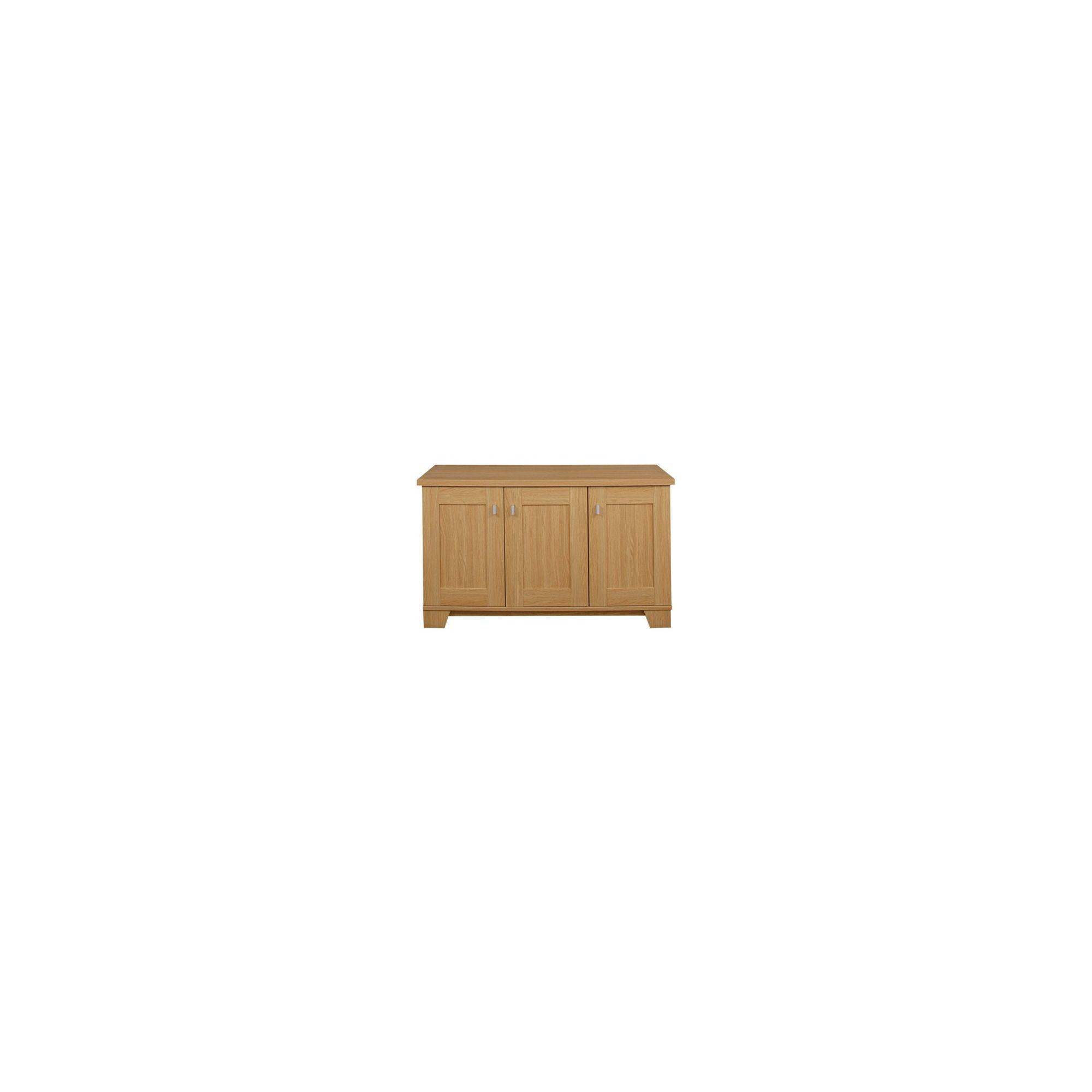 Caxton Sherwood 3 Door Sideboard in Natural Oak at Tesco Direct