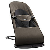 BabyBjorn Balance Soft Bouncer Organic (Black/Brown)