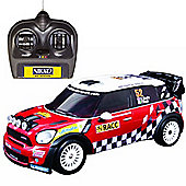 Nikko Radio Control Mini Counrtyman WRC Car