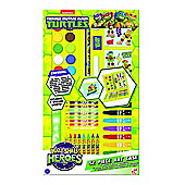 Turtles Half Shell Heroes 52 Piece Art Case