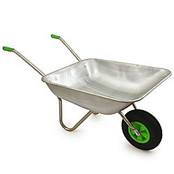 Bentley Garden 65L Galvanised Steel Wheelbarrow