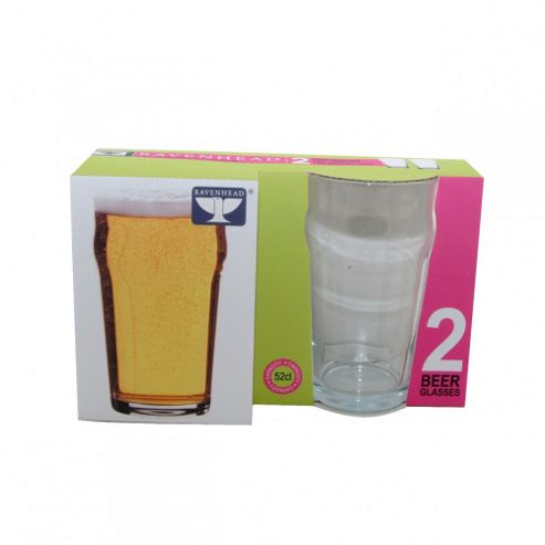 ZRW - Glass - Set 2 Beer Glasses 580ml