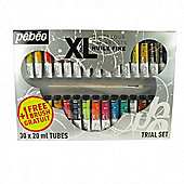 Pebeo Xl Sets - 30 X 20ml Tubes