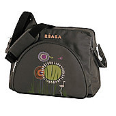 Beaba Ethnic Santiago Chocolate Reed Flowers Changing Bag