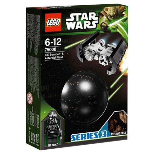 LEGO Star Wars Planets Tie Bomber & Asteroid Field 75008