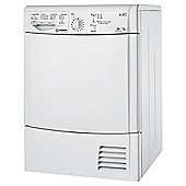 Indesit Ecotime Tumble Dryer, IDCL85BH, 8KG Load, White