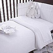 Izziwotnot Premium Gift Luxury Quilt Bedding Bale (White)