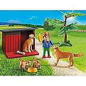 Playmobil - Country Golden Retrievers with Toy 6134
