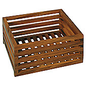 Möve Acacia Crate in Wood