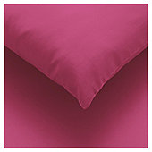 Tesco Fitted Sheet Magenta, Double