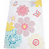 Daisy Floral Cot Bed Quilt