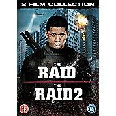 The Raid 1 & 2 DVD
