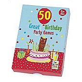 50 Great Birthday Party Games from 5yrs+ by Paul Lamond Games