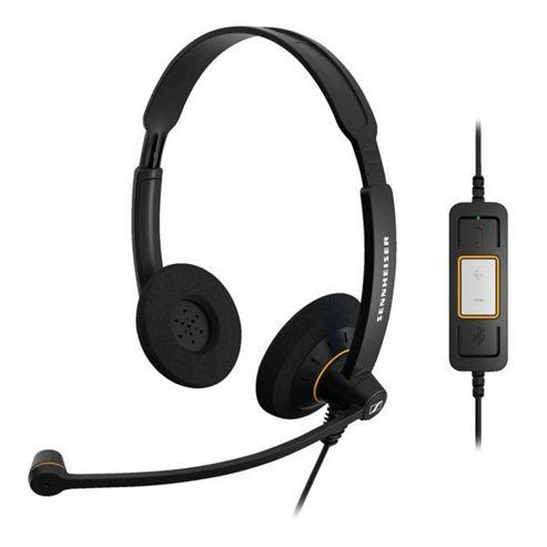 Sennheiser 504547 SC 60 USB ML Headset (black)