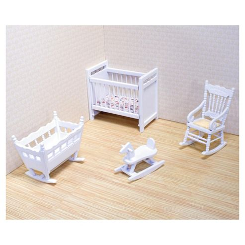 Melissa & Doug Dolls House Nursery Furniture