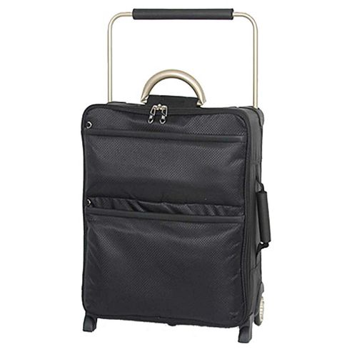 buy it luggage world 39 s lightest suitcase black small from. Black Bedroom Furniture Sets. Home Design Ideas