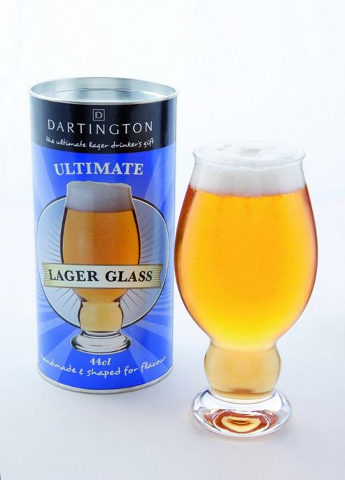 Dartington Ultimate Lager Glass Drinking Gift