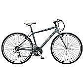 "2015 Viking Waterloo 19"" Gents Sports Urban Hybrid Bike"