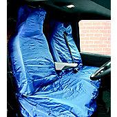 """Blue WR Nylon Van Seat Covers """"Air Bag Friendly"""""""