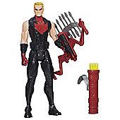 """Marvel Avengers Lightning Bow Hawkeye 12"""" Figure"""