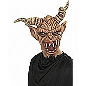 Devil Mask with Goatee and Horns
