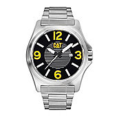 CAT DP XL Mens Stainless Steel Date Display Watch - PK.141.11.137