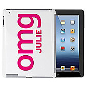 Personalised OMG Slogan iPad Case