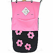 Snuggle Footmuff To Fit Babystyle Buggy Oyster Max TS2 Gem - Flowers
