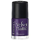Velvet Matte Nail Polish- Purple Opulance