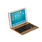 iPad Mini 4 Clamshell Keyboard Case in Gold
