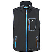 Trespass Mens Chimborazo Softshell Bodywarmer - Black