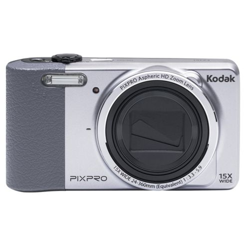 Kodak Pix Pro FZ151 Digital Camera, Silver, 16MP, 15x Optical Zoom 3