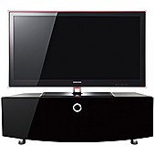 MDA Designs Cubic Curve 1000 Black TV Cabinet