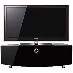 MDA Designs Cubic Curve 1000 Black TV Cabinet