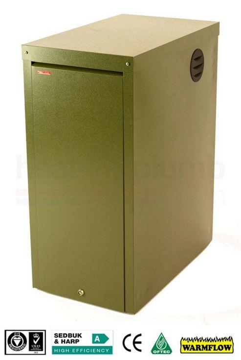 Warmflow K-SERIES Kabin Pak EXTERNAL Condensing System Oil Boiler 26-33kW